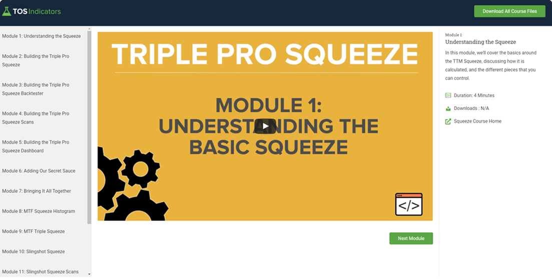 Squeeze Course Preview